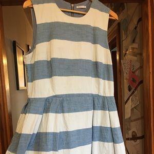 Gap Size 14 Stripped Dress